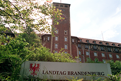 The new Land Brandenburg