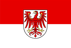 Flag of the Federal State of Brandenburg