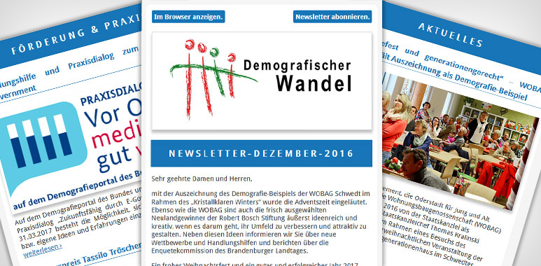 Demografie-Newsletter